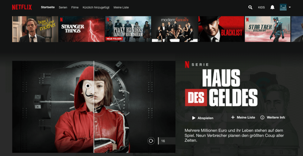 Netflix Personalisierung machine learning im Marketing